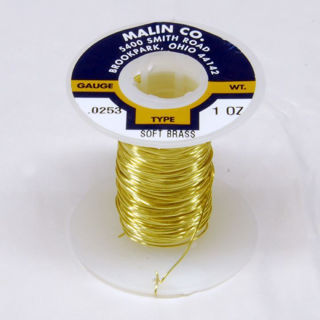 Picture of 23 Gauge Brass Wire